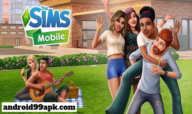 لعبة The Sims Mobile v17.0.0.77348 مهكرة بحجم 101 MB للأندرويد