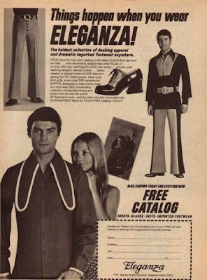 Things happen when you wear Eleganza