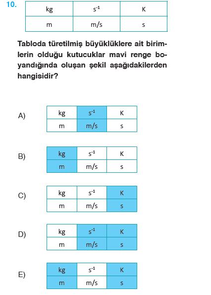 9sınıf Fizik Meb Yayınları Ders Kitabı 50sayfa Cevapları Iünite