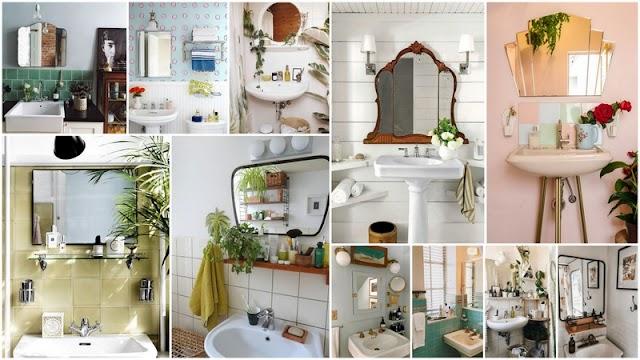 Διαμορφώσεις Μπάνιου σε Vintage στυλ