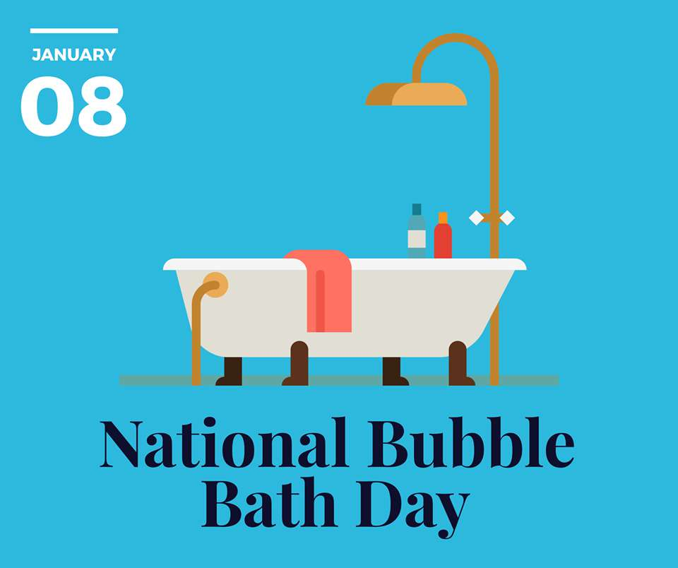 National Bubble Bath Day Wishes pics free download