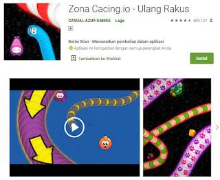 Download Game Cacing Worms Zone Mod APK Terbaru
