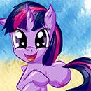 MLP: Discrod Vision Twilight Sparkle