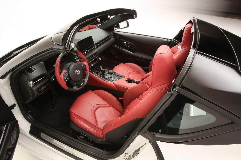 Toyota New supra 2020 interior