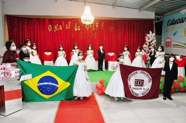 É realizado em Guadalupe pela escola IEEB a Formatura do ABC