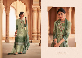 House Of Lawn Sultana Cotton lawn Salwar kameez wholesaler