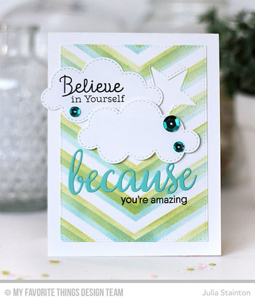 Handmade card from Julia Stainton #mftstamps