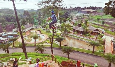 Taman Wisata Karang Resik Tasikmalaya Jaman Now