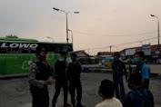 Berikan Imbauan Protkes, Ditsamapta Polda Banten Rutin Laksanakan Patroli Dialogis