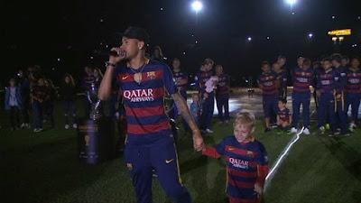 barcelona campeon liga española 2016 neymar