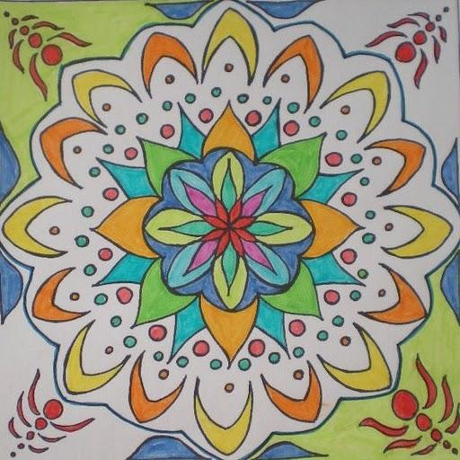 Mandalas para ni os burbujitas for Un mural facil de hacer
