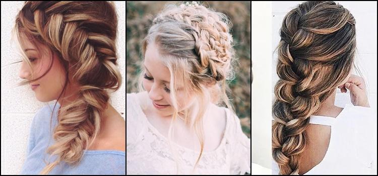 Warkocze jako stylizacja na wesele