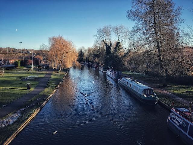 View from Canal Bridge Berkhamstead