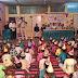 120 बच्चों का जन्मदिन 10 किलो केक काटकर एवं गिफ्ट देकर मनाया गया