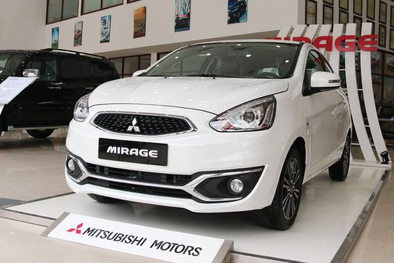 Mitsubishi Mirage giảm 50 triệu tại Việt Nam, rẻ ngang Kia Morning