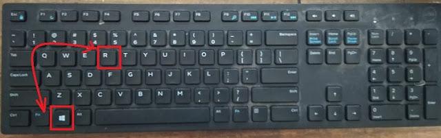 start + R button