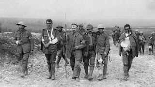 Soldados heridos en la 1ª Guerra Mundial