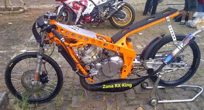 Foto Motor RX King Drag Yang Mempesona