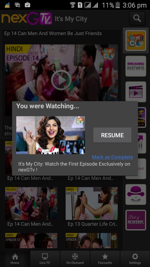 nexGTv HD:Mobile TV, Live TV Download Free Apk Version 4 4 | SRDApkstore