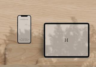 iPhone and iPad Pro Mockup
