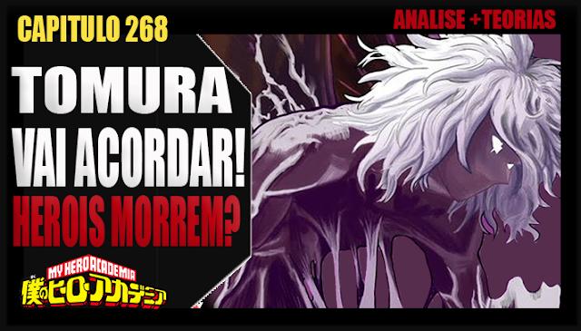 Boku no Hero Academia 268 - TOMURA VAI ACORDAR! VAI MATAR GERAL! Analise e Teorias