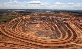 Toxic leak from Angola diamond