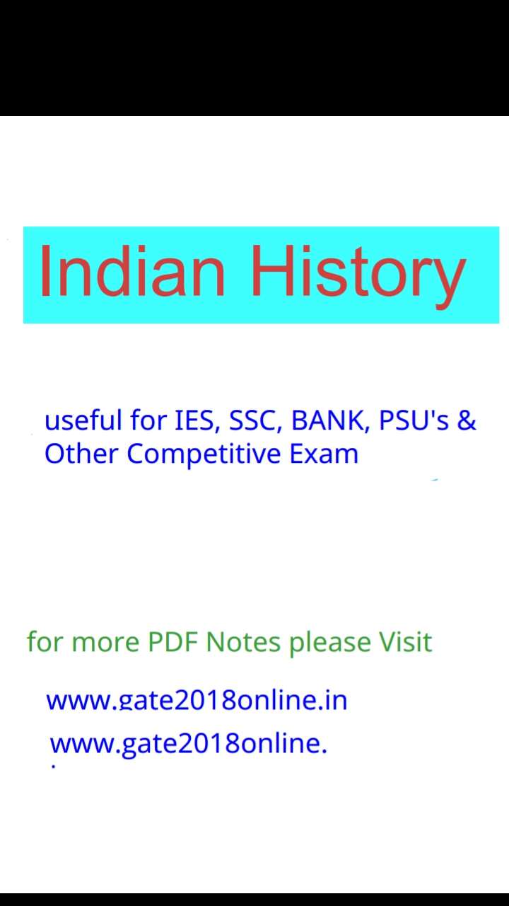 Indian History Objective Questions And Answers Pdf