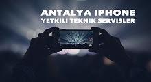 antalya iphone servisi tamiri