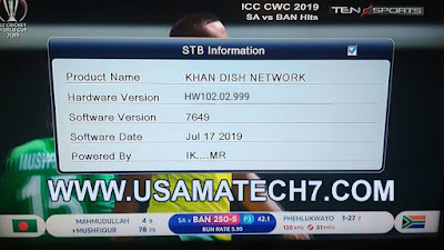 ALI3510C NEW SOFTWARE - ALI3510C HW102.02.999 CCCAM, POWERVU OK SOFTWARE WITH STARSAT MENU