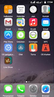 merubah tampilan android menjadi blackberry z10