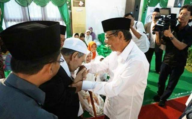 hukum cium tangan menurut islam