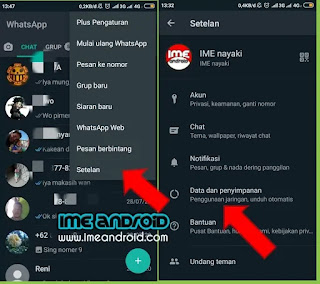 Cara menghapus chat whatsapp