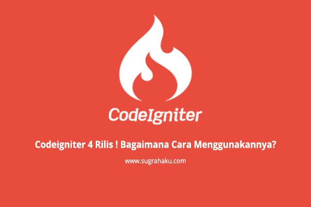 Codeigniter 4 Rilis ! Bagaimana Cara Menggunakannya?