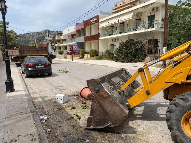 Δήμος Ναυπλιέων: Καθαρισμός από ογκώδη αντικείμενα στις Τ.K. Λευκακίων και Τολού