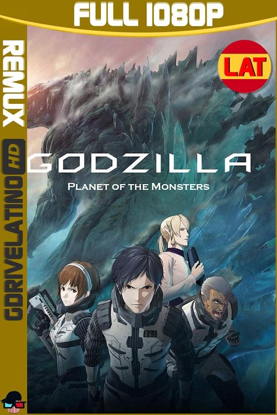 Godzilla : El Planeta de los Monstruos (2017) BDRemux 1080p Latino-Japones MKV