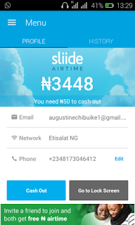 Lattest Sliide airtime cheat on Android 2016