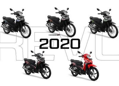 Daftar Motor Honda Revo
