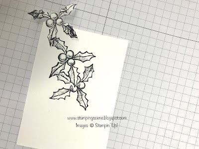 masking technique for rubber stamping card making and scrapbooking