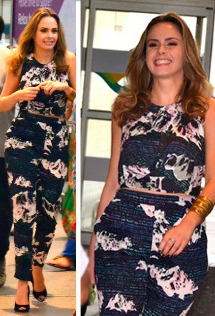 Look da Ana Paula Renault, BBB16, macacão