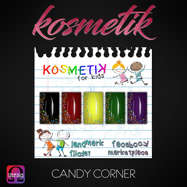 .kosmetik Kids Fall + Halloween Nails