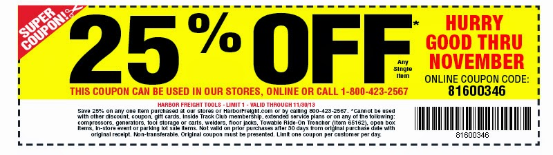 Harbor Freight 20 Off Coupon Harbor Freight Tools Coupons Where Have They Gone