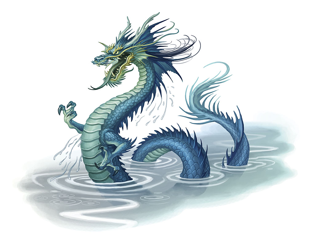dragon art Chinese