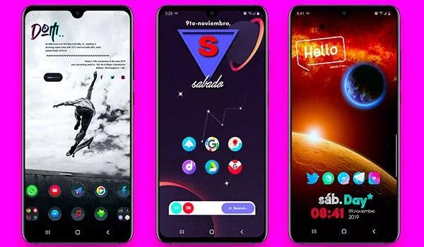 NOVA LAUNCHER Mejores pantallas de inicio Android
