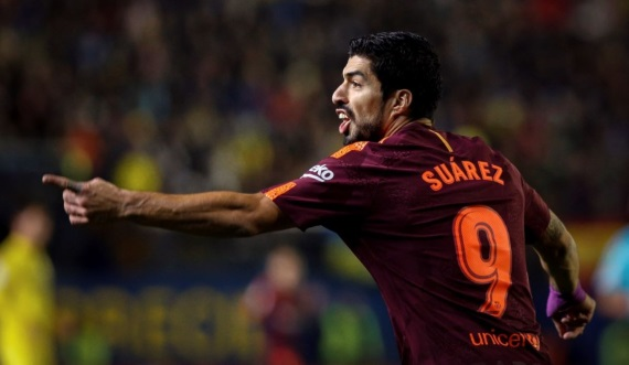 Barcelona beat Villarreal 2-0 last Sunday thanks to goals from Luis Suarez and Lionel Messi