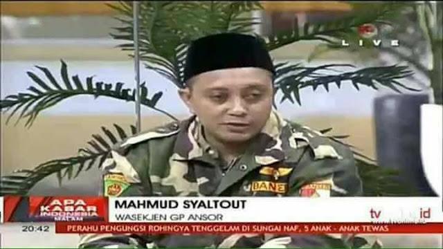 Ini Penjelasan Wasekjen GP Ansor kepada FPI tentang Tragedi Rohingya yang Sebenarnya