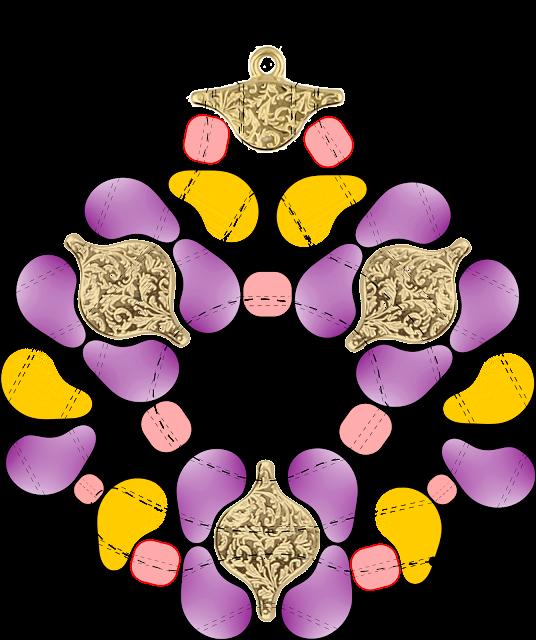 beads illustration Martha Mollichella