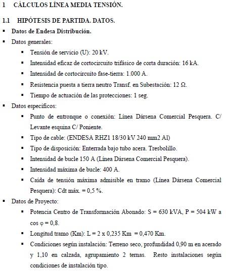 Fp e ingenier a el ctrica redacci n del documento t cnico for Proyecto tecnico ejemplos