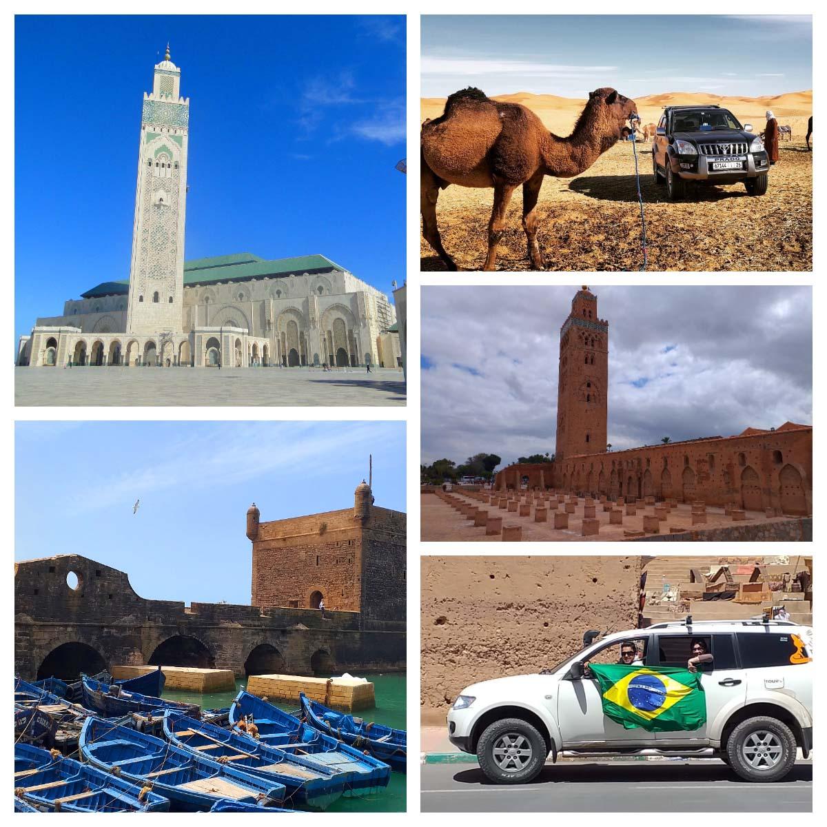 Guias de turismo em português no Marrocos