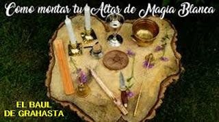 El Altar en la MAGIA BLANCA