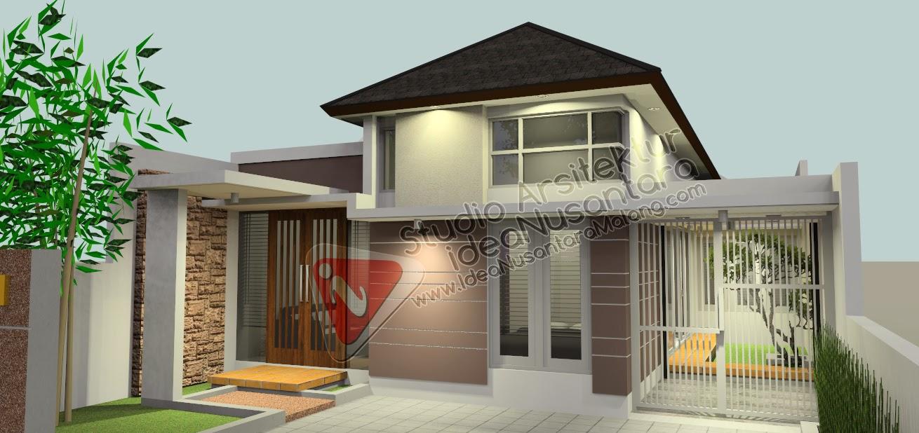 Desain Rumah Minimalis 1 Lantai Gedong Limo